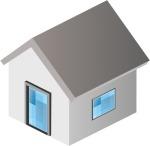 Logo menuiseries portes et fenêtres