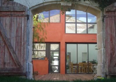 portes et fenetres menuiseries aluminium et pvc sommieres With maison de l ecologie 7 portes et fenetres menuiseries aluminium et pvc sommiares